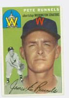 1954 Topps Baseball 6 Pete Runnels