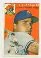 1954 Topps Baseball 16 Vic Janowicz