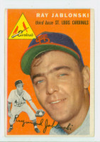 1954 Topps Baseball 26 Ray Jablonski