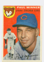 1954 Topps Baseball 28 Paul Minner