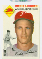 1954 Topps Baseball 45 Richie Ashburn