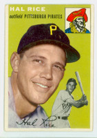 1954 Topps Baseball 95 Hal Rice