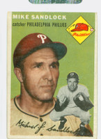 1954 Topps Baseball 104 Mike Sandlock