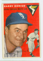 1954 Topps Baseball 110 Harry Dorish