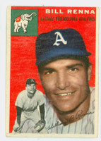1954 Topps Baseball 112 Bill Renna