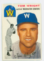 1954 Topps Baseball 140 Tom Wright