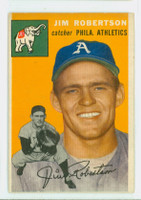 1954 Topps Baseball 149 Jim Robertson  [SKU:Y54_T54BB_149a_4vgers]  Oakland Athletics Very Good to Excellent