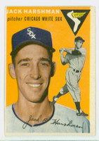 1954 Topps Baseball 173 Jack Harshman  [SKU:Y54_T54BB_173a_4vgers]  Chicago White Sox Very Good to Excellent