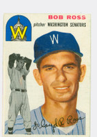 1954 Topps Baseball 189 Bob Ross