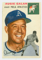 1954 Topps Baseball 233 Augie Galan