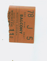 1959 Boston Celtics Ticket Stub vs Cincinnati Royals Jack Twyman 49 pts Bill Sharman 32 ts  - November 11, 1959 Excellent to Mint Rough tear line