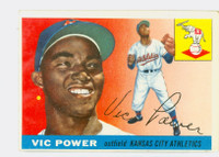 1955 Topps Baseball 30 Vic Power