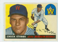 1955 Topps Baseball 41 Chuck Stobbs