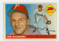 1955 Topps Baseball 46 Ted Kazanski