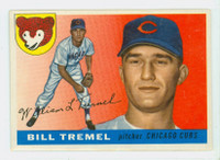 1955 Topps Baseball 52 Bill Tremel  [SKU:Y55_T55BB_052a_4vgers]  Chicago Cubs Very Good to Excellent