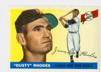 1955 Topps Baseball 1 Dusty Rhodes
