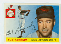 1955 Topps Baseball 48 Bob Kennedy  [SKU:Y55_T55BB_048a_6exmrs]  Baltimore Orioles Excellent to Mint