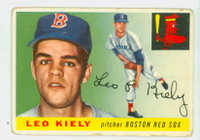 1955 Topps Baseball 36 Leo Kiely  [SKU:Y55_T55BB_036a_1prrs]  Boston Red Sox Poor