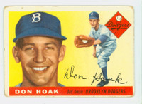 1955 Topps Baseball 40 Don Hoak