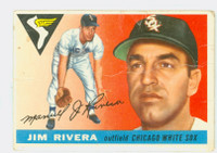 1955 Topps Baseball 58 Jim Rivera