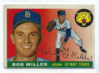 1955 Topps Baseball 9 Bob G Miller