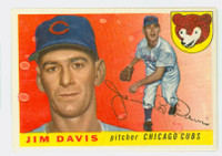 1955 Topps Baseball 68 Jim Davis