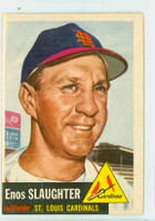 1953 Topps Baseball 41 Enos Slaughter Single Print