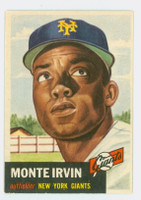 1953 Topps Baseball 62 Monte Irvin