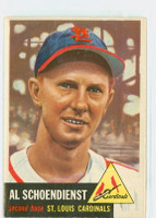 1953 Topps Baseball 78 Red Schoendienst Single Print