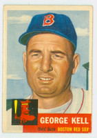 1953 Topps Baseball 138 George Kell Single Print