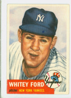 1953 Topps Baseball 207 Whitey Ford