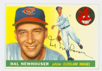 1955 Topps Baseball 24 Hal Newhouser  [SKU:Y55_T55BB_024a_3vgrs]  Cleveland Indians Very Good