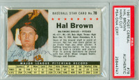 Hal Brown AUTOGRAPH d.15 1961 Post #78 Orioles BOX PSA/DNA   [SKU:BrowH394_PO61BBVaAPpa]