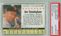 Joe Cunningham AUTOGRAPH 1961 Post #172 Cardinals BOX PSA/DNA 