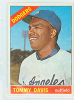 1966 Topps Baseball 75 Tommy Davis  [SKU:Y66_T66BB_075a_2gvgrs]  Los Angeles Dodgers Good to Very Good