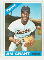 1966 Topps Baseball 40 Jim Grant  [SKU:Y66_T66BB_040a_4vgers]  Minnesota Twins Very Good to Excellent