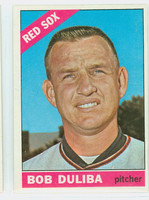 1966 Topps Baseball 53 Bob Duliba  [SKU:Y66_T66BB_053a_4vgers]  Boston Red Sox Very Good to Excellent