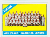 1966 Topps Baseball 59 Reds Team  [SKU:Y66_T66BB_059a_4vgers]  Very Good to Excellent