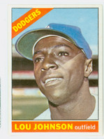 1966 Topps Baseball 13 Lou Johnson