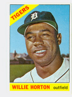 1966 Topps Baseball 20 Willie Horton