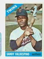 1966 Topps Baseball 56 Sandy Valdespino