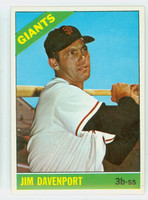 1966 Topps Baseball 176 Jim Davenport