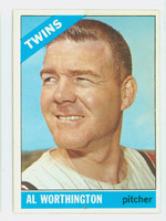 1966 Topps Baseball 181 Al Worthington