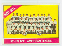 1966 Topps Baseball 259 Red Sox Team