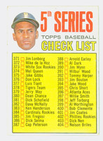 1967 Topps Baseball 361 Checklist Five
