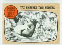 1968 Topps Baseball 152 World Series 2 Very Good to Excellent