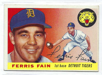 1955 Topps Baseball 11 Ferris Fain
