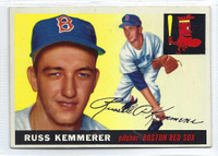 1955 Topps Baseball 18 Russ Kemmerer  [SKU:Y55_T55BB_018a_5exprs]  Boston Red Sox Excellent to Excellent Plus