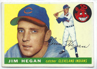 1955 Topps Baseball 7 Jim Hegan