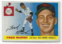 1955 Topps Baseball 13 Fred Marsh